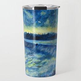 Starry Night in Tallassee Travel Mug