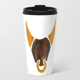 BULL HEAD ILLUSTRATION / SINGLE - SUMMER 2017 Travel Mug