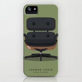 Lounge Chair - Charles & Ray Eames iPhone Case