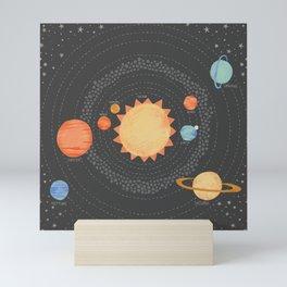 Our Solar System Mini Art Print