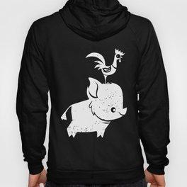Moana Cute Pua And hei hei Graphic t-Shirts Hoody