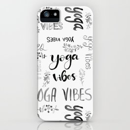 Yoga Vibes iPhone Case