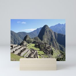 machu picchu_one Mini Art Print