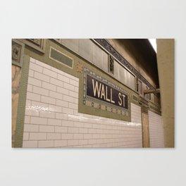 Big Money Canvas Print