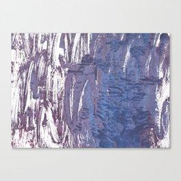 Rhythm abstract watercolor Canvas Print