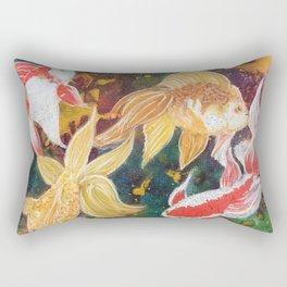 Wild Goldfish Dreams Rectangular Pillow