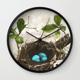 A commonplace miracle Wall Clock