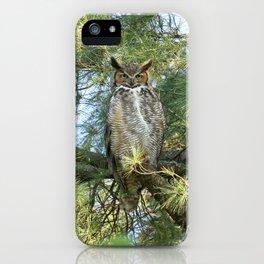 Great horned goddess iPhone Case