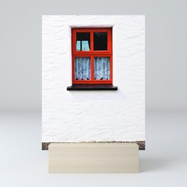 Red Window Mini Art Print