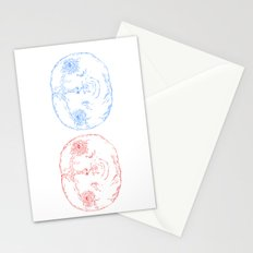 Red Shift Stationery Cards