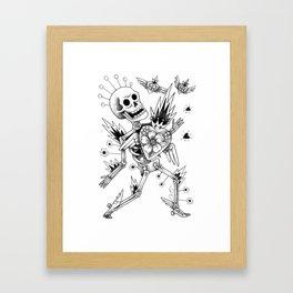 Adios mi amor Framed Art Print