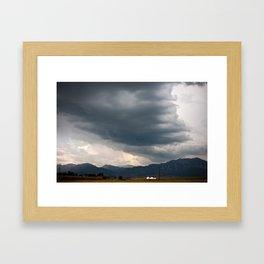 Boulder, CO Framed Art Print