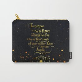 Caraval - Change Your Fate Carry-All Pouch