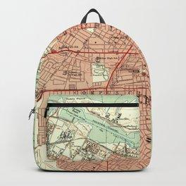 Vintage Map of Corpus Christi Texas (1951) Backpack