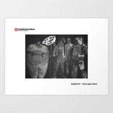 #12 - No te vayas, Chavo Art Print