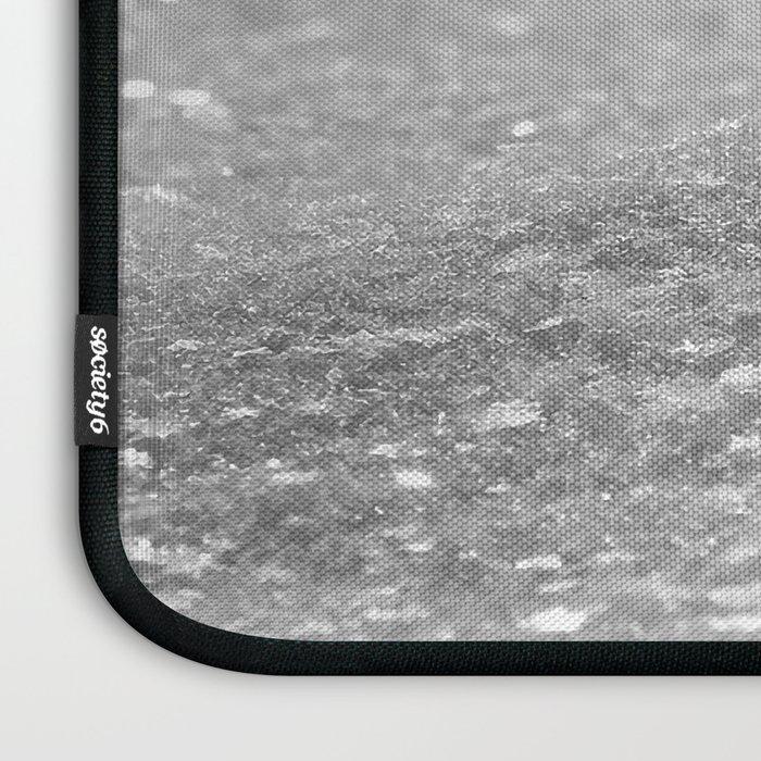 Glitter Silver Laptop Sleeve