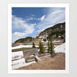 Ore Loading Chute above Sheridan Summit, No. 1 of 2 Art Print