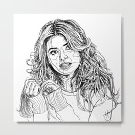 Holly Willoughby Metal Print