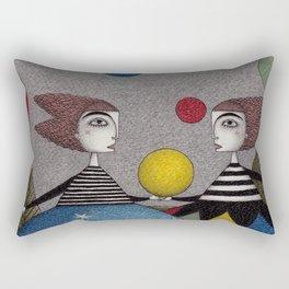 Ball Game Rectangular Pillow