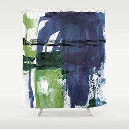 Teal Splendor No.1t by Kathy Morton Stanion Shower Curtain