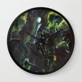 "Color Commentary #4: ""Long Live Duke Leto!"" (Black & Green) [Lys Phillips] Wall Clock"