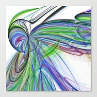 tie dye Canvas Prints featuring Tie Dye by Shalisa Photography