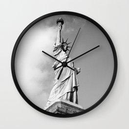 Lady Liberty - NYC Wall Clock