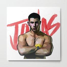 Nick Jonas Metal Print