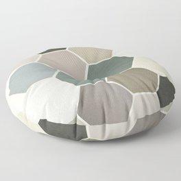 Shades of Grey Floor Pillow