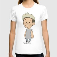 niall T-shirts featuring Schulz Niall by Ashley R. Guillory