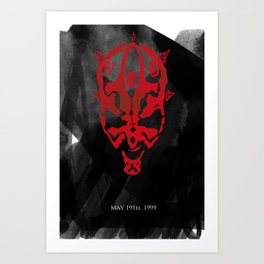 The Phantom Menace Art Print