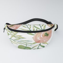 Country Rose Garden Fanny Pack