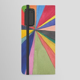 Watercolor Pinwheel Robayre Android Wallet Case