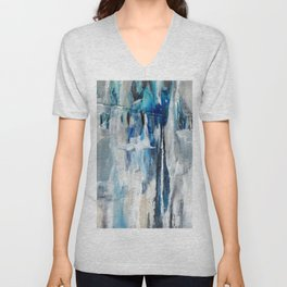 Diversion #Abstract #Acrylic #Society6 #buyart Unisex V-Neck