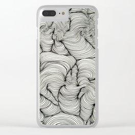 Soul Wave Exhibit 1 Clear iPhone Case