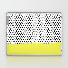 Polka dot rain dip Laptop & iPad Skin