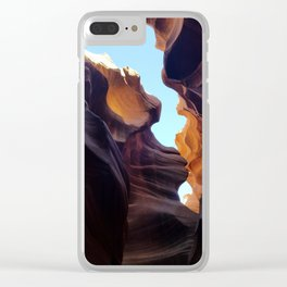 Antelope Canyon #7 Clear iPhone Case
