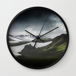 Landmannalaugar Wall Clock