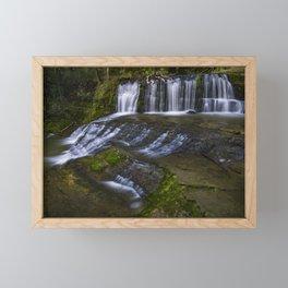 Omeru Reserve Falls Kaukapakapa 2 Framed Mini Art Print