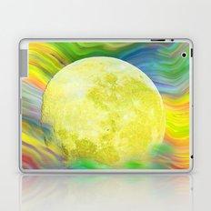 MOON VISIONS AT SEA OIL PAINTING Laptop & iPad Skin