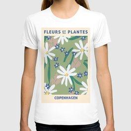 Fleurs Et Palntes Copenhagen T-shirt