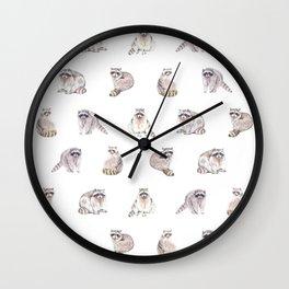 Fluffy Critters Wall Clock