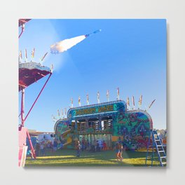 Act Of War Fair Metal Print
