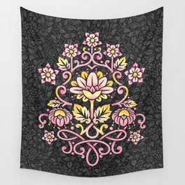 Damask Rose Wall Tapestry