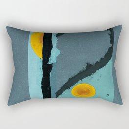 Turquoise Twelve Rectangular Pillow