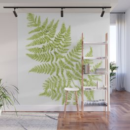 Fresh Fern Modern Botanical Wall Mural