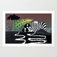 Silently Sleeping Art Print