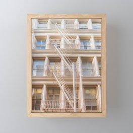Soho Ombe Framed Mini Art Print