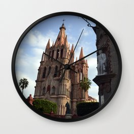 church san Miguel de allende Wall Clock