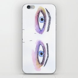 Two Black Eyes iPhone Skin